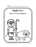 Psalm 23:1 Coloring Sheet by Biblecation