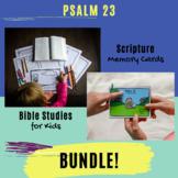 Psalms for Kids - Psalm 23 (ESV) BUNDLE!