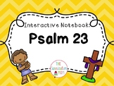 Psalm 23 Interactive Notebook + Copy/Tracing Work