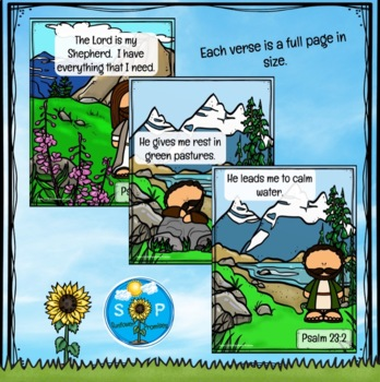 Psalm 23 - International Children's Bible Version