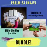 Psalms for Kids - Psalm 23 (NKJV) BUNDLE!
