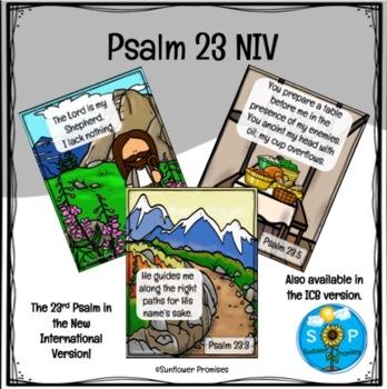 Psalm 23 - New International Version