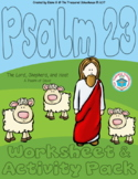 Psalm 23 The Lord is My Shepherd Worksheet and Activity Pack
