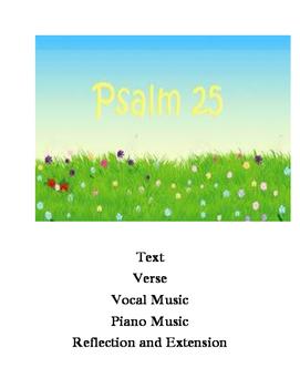Psalm 25 Mini Lesson