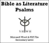 Psalms: Bible as Literature
