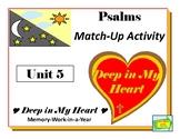 Psalms Match-Up Game, Activity, Art