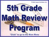 PSSA Test Prep - 5th Grade Math Review Program / Grade 5 - BOGO Opportunity!