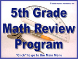 PSSA Test Prep - 5th Grade Math Review Program / Grade 5 -