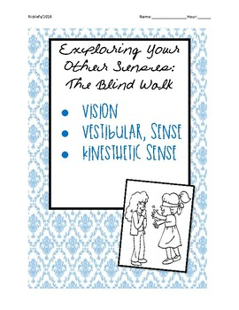 Psych Senses EXPERIMENT: The Blind Walk - Vision, Kinesthe