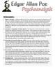 Psychoanalysis of Edgar Allan Poe - Using Text Evidence