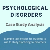 Psychological Disorder Case Studies