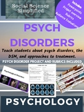 Psychological Disorders and Approaches to Treatment & Therapy