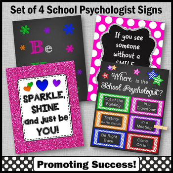 Psychology Office Decor, School Psychologist Appreciation Gifts, End of the Year