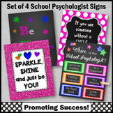 Where is the School Psychologist Door Sign, Psychology Office Decor NOT EDITABLE