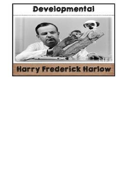 Psychologist Harry Harlow Flipbook