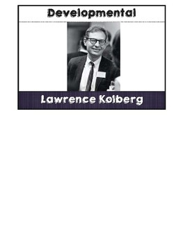 Psychologist Lawrence Kolhberg Flipbook
