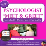 "Psychologist ""Meet & Greet"" Cooperative Activity (Psycholo"