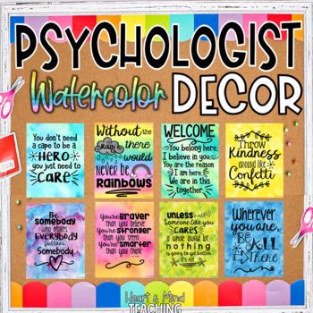 Psychologist Office Decor Set