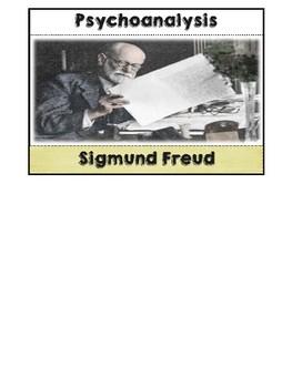 Psychologist Sigmund Freud Flipbook