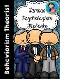 Psychologists Flipbooks Growing Bundle