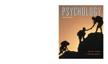 Psychology, 11th Edition 11th Edition