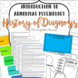 Psychology: Abnormal Psych History and Diagnosis (DSM-V)