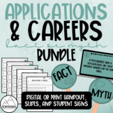 Psychology: Applications & Careers Fact or Myth Bundle