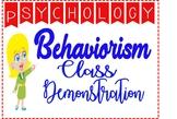 Psychology Behaviorism Perspective Fun Interactive Class D