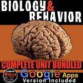 Psychology: Biology & Behavior Unit: PPTs, Worksheets, Tes