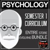 Psychology Bundle! Complete Course Semester 1 (Entire Store!)