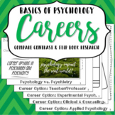 Basics of Psychology: Careers Flipbook & Psychology/Psychiatry Comparison