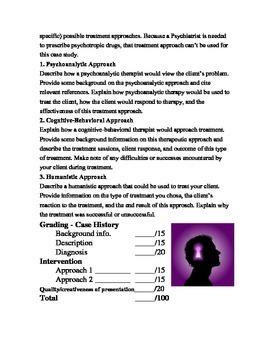 Psychology Case Study
