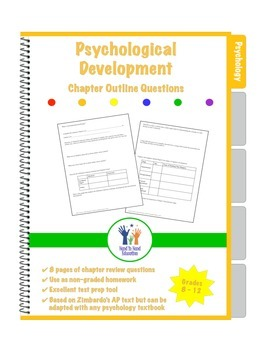 Psychology Chapter Outline Review Questions Developmental