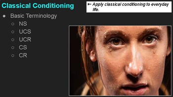 Psychology - Classical Conditioning