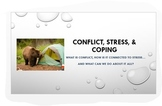 Psychology: Conflict, Stress & Coping ~ Engaging  & Analytic PowerPoint