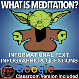 Psychology: Consciousness: Meditation Info Text/Infographic + Distance Learning