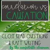 Psychology Research Design: Correlation vs Causation Close Read