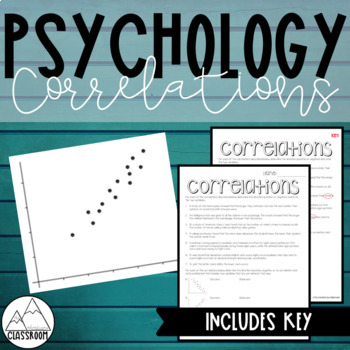 Psychology Correlations