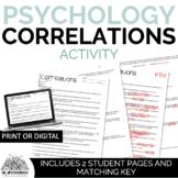 Psychology Correlations