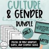 Psychology: Culture & Gender Fact or Myth Bundle