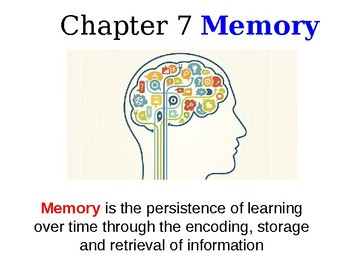 Psychology David G. Myers 4th Edition Chapter 7 Powerpoint