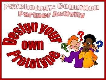 Psychology Designing a Prototype Partner Activity for Cogn