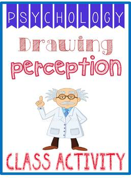Psychology Drawing  Perception Activity Rubric w Example for Selective Attention