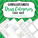 Psychology: Drug Category Card Sort