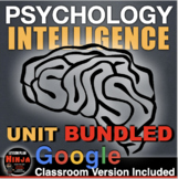 Psychology Intelligence Unit - PPTs w/Video Clips, Handouts, Review & Assessment
