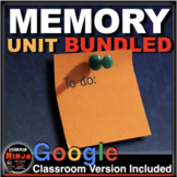 Psychology Memory Unit - PPTs, Handouts, Quiz, Project, Video Links (AP Psych)
