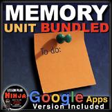 Psychology Memory Unit - PPTs, Handouts, Project, Test + Distance Learning (AP)