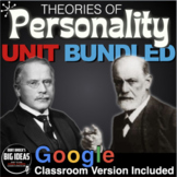 Psychology: Personality Unit - PPTs, Worksheets, Assessment & Video Links