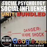 Social Psychology: Social Influence Unit plus Distance Lea