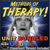 Psychology Therapy Unit Bundled - PPTs, Worksheets, Assessment & Video Links